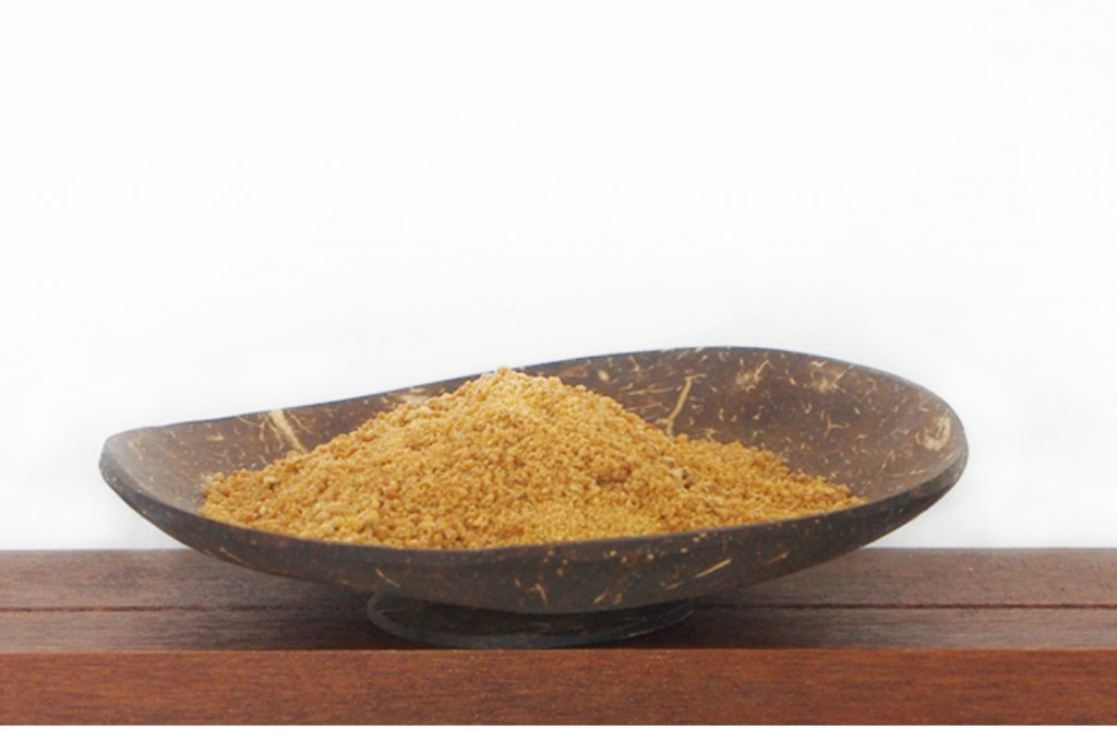 coconut blossom sugar from organic farming