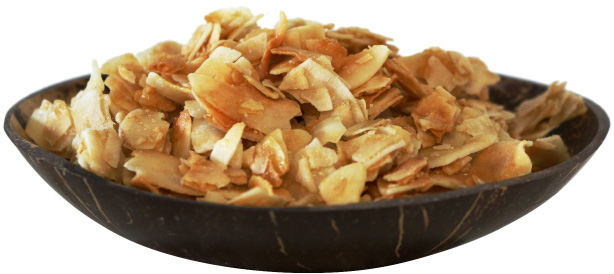 coconut chips from organic farming
