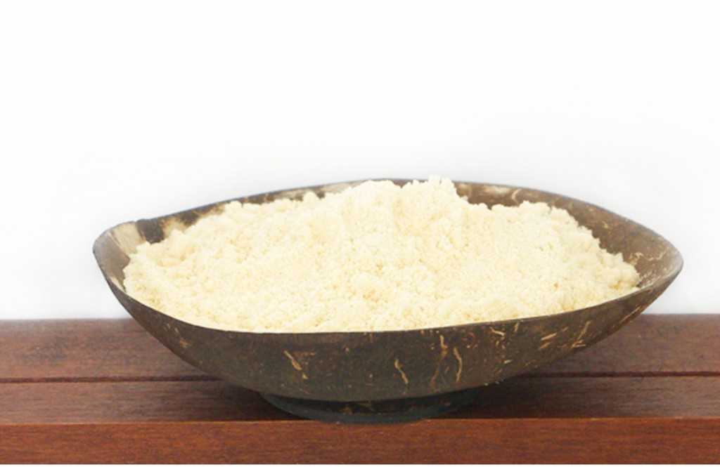 coconut flour from organic farming