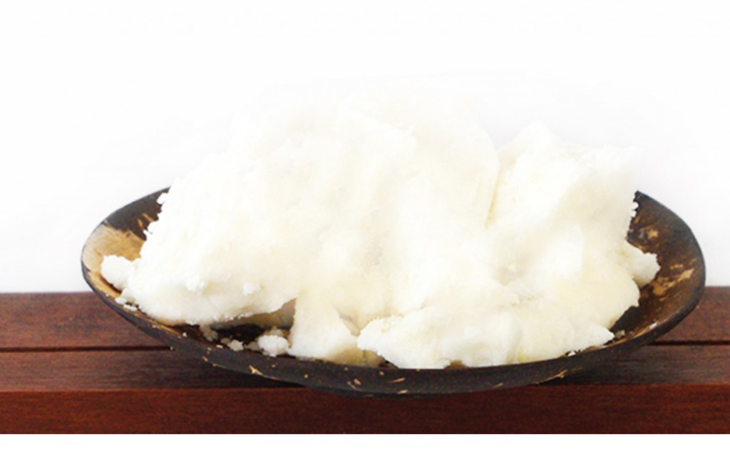 creamed coconut from organic farming