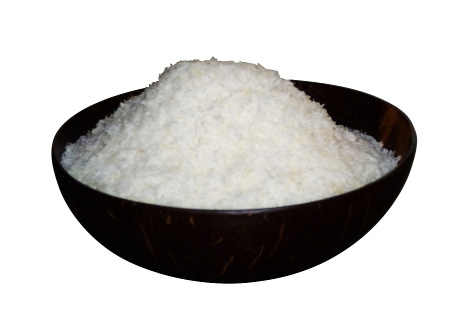 desiccated coconut from organic farming