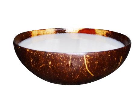 Kokosnussmilch aus biologischem Anbau